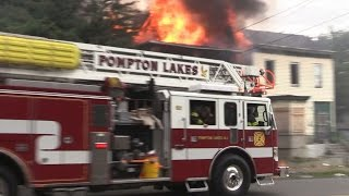 Paterson NJ Mutual Aid Response, 2nd Alarm Fire 197 Rosa Parks Blvd Pre Arrival of 1st Due companies