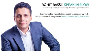 Rohit Bassi Conscious Communication Keynote Speaker