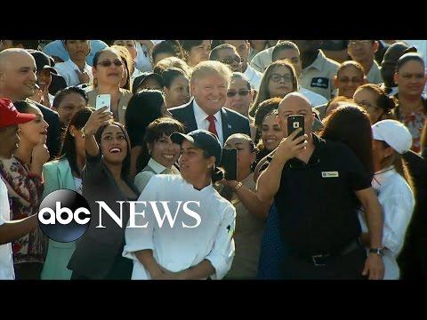 Trump Touts Florida Resorts, Attacks Obamacare