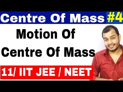 Class 11 chapter 7 System Of Particles | Centre of Mass 04 | Motion of Centre Of Mass IIT JEE / NEET