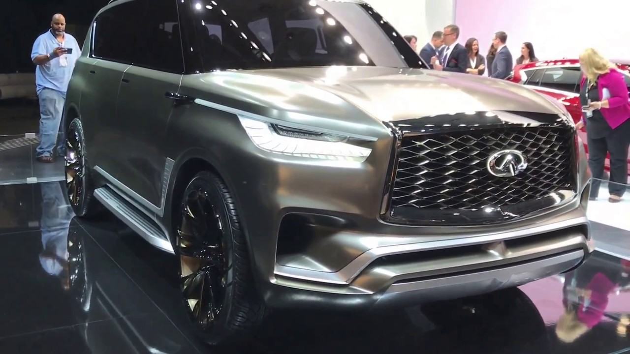 Infiniti Monograph Concept First Look Full Size Suv