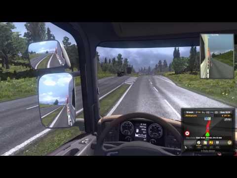 Euro Truck Simulator 2 - Ep01: Batendo a carreta recém comprada