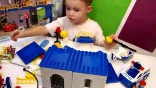 Мультфильм лего Lego Конструктор Полицейский участок аналог Lego Duplo