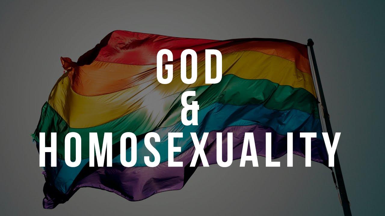 God on homosexuality