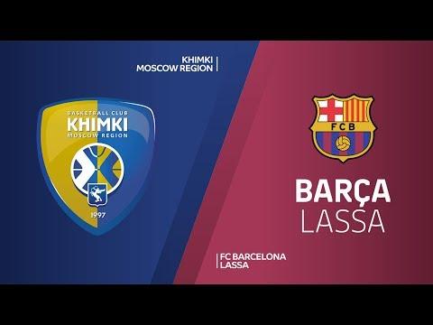 Khimki Moscow region - FC Barcelona Lassa Highlights | Turkish Airlines EuroLeague RS Round 6