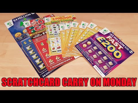 SANDWELL MOBILES CARRY ON SCRATCHCARD MONDAY