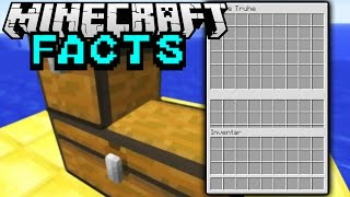 DREIER KISTE! | Minecraft Facts #65 | ConCrafter