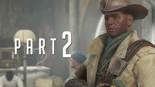 Fallout 4 - Walkthrough PART 2 Gameplay No Commentary [1080p]