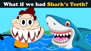 What if we had Shark's Teeth? + more videos   #aumsum #kids #children #education #whatif