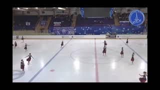 САНРАЙЗ 1 Чемпионат России по синхронному катанию 2021 Сызрань Короткая программа