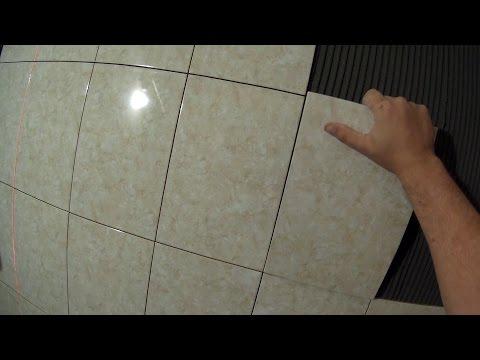 видео: Укладка плитки без крестиков
