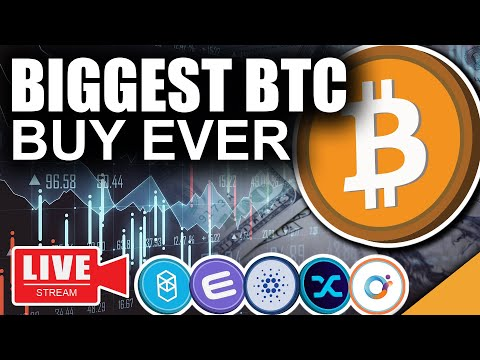 BIGGEST Bitcoin Buy In HISTORY (TOP Investors Doubling UP)