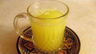 Ginger Juice Recipe - Cookingwithalia - Episode 86