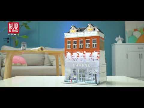 Mould King 16021 CHANEL AMSTERDAM Bricks Toys