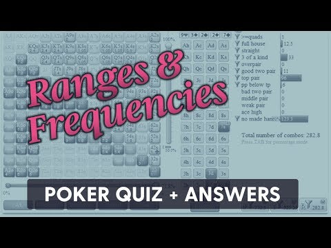 Ranges & Frequencies (Quiz + Answers) | SplitSuit