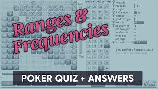 Ranges & Frequencies (Quiz + Answers) | SplitSuit