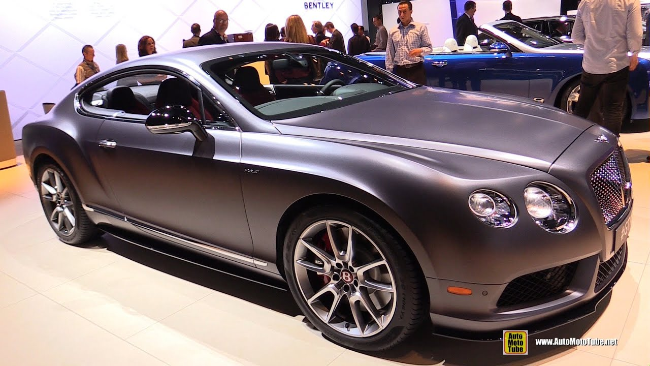 2015 Bentley Continental Gt V8s Exterior And Interior
