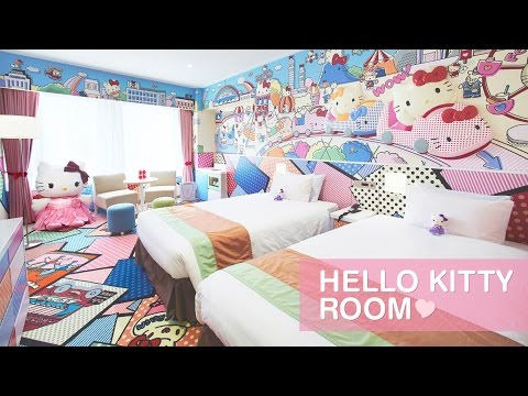 How About a Meow-velous Hotel Stay in a Hello Kitty Room? (Shinjuku, Tokyo, Japan)