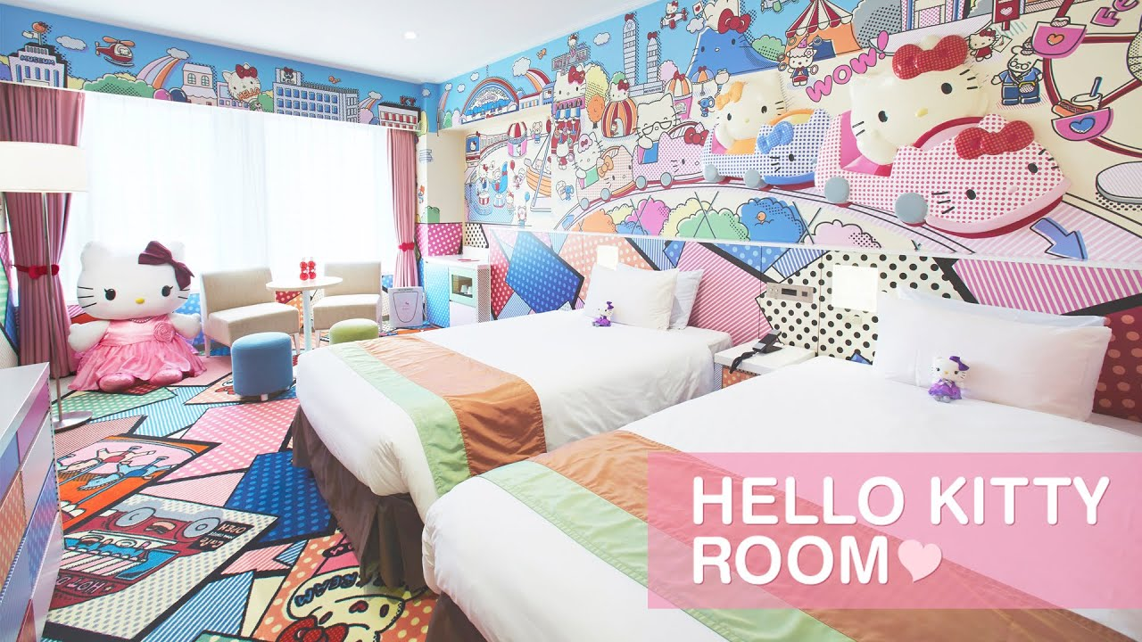 Hello Kitty Room Suite At Grand Hi Lai Hotel Kaohsiung Taiwan