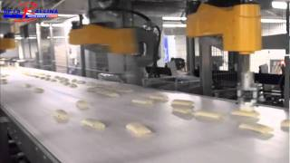 Robotised box packing - Pastry
