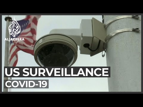 US protesters slam surveillance during COVID-19 crisis