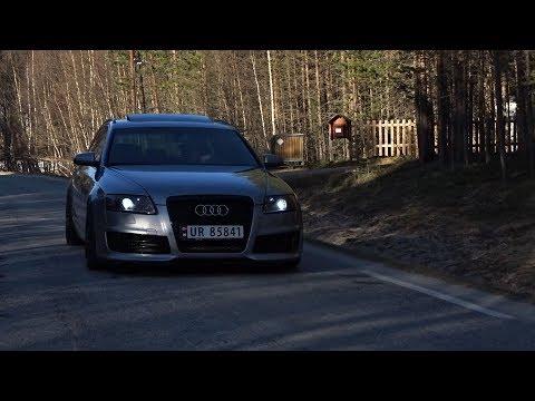 Bagged Audi A6 C6  RS6