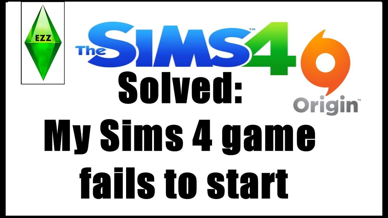 The Sims4 wont start Origin client is not running Solve