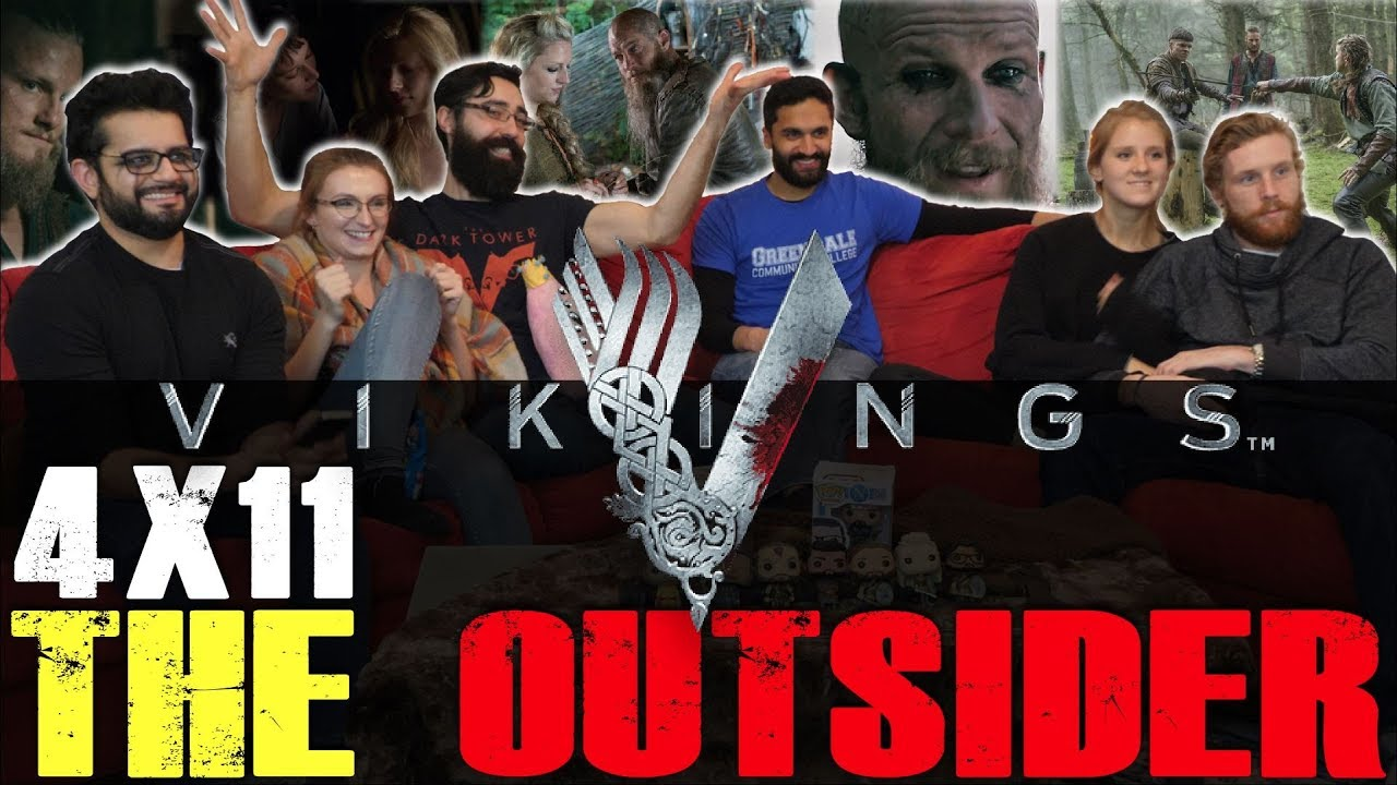 Download Vikings - 4x11 The Outsider - Group Reaction