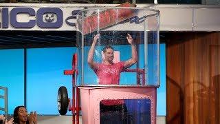 Hannah Brown Takes Aim at Justin Hartley in a Dunk Tank