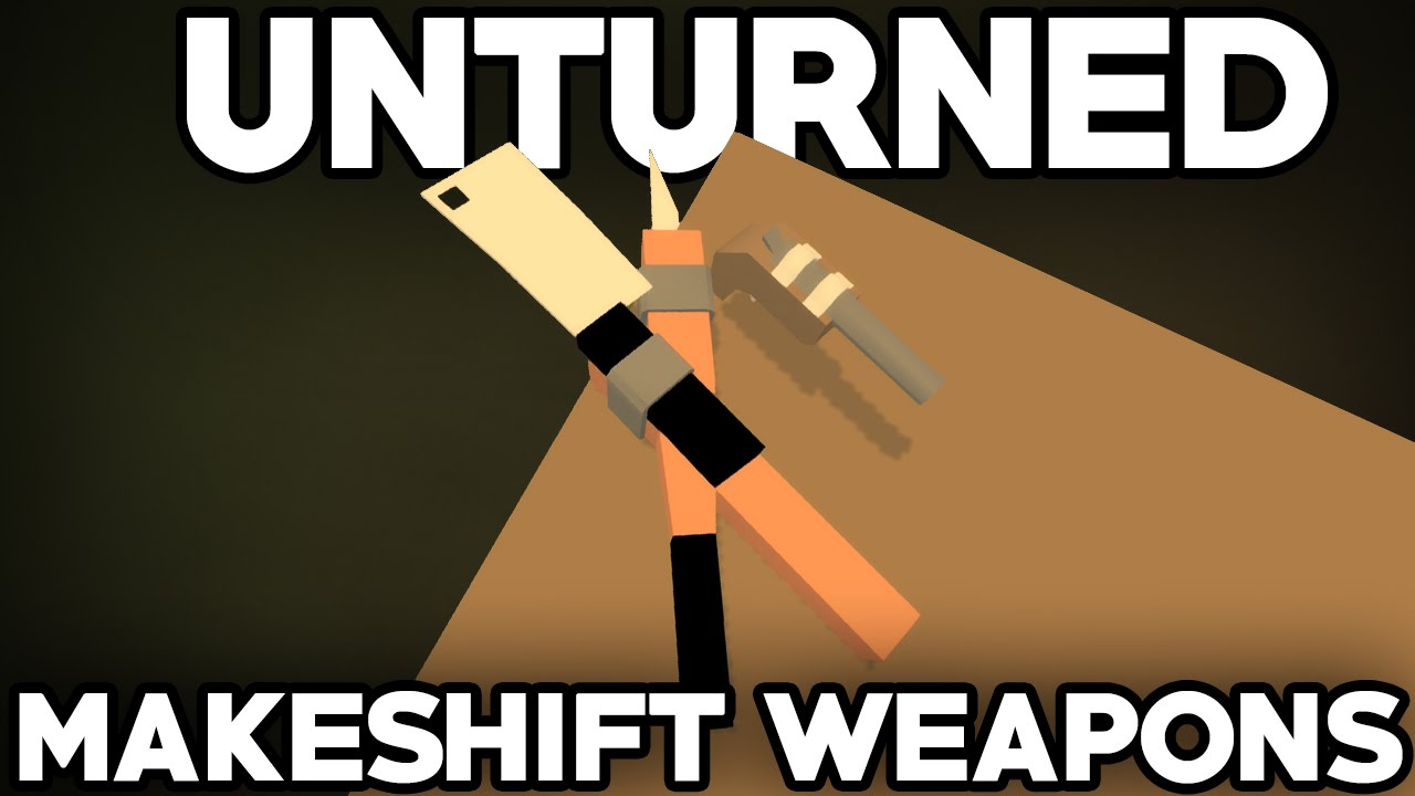 unturned how to make a sentry gun