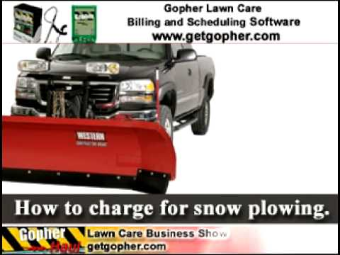 How to charge for snow plowing - GopherHaul Podcast