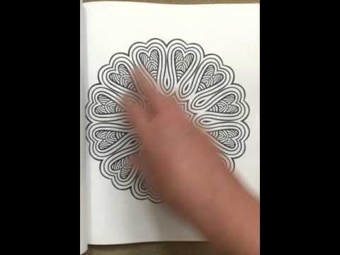 The Worlds Best Mandala Coloring Book Volume 3 A Stress Management Flip Through