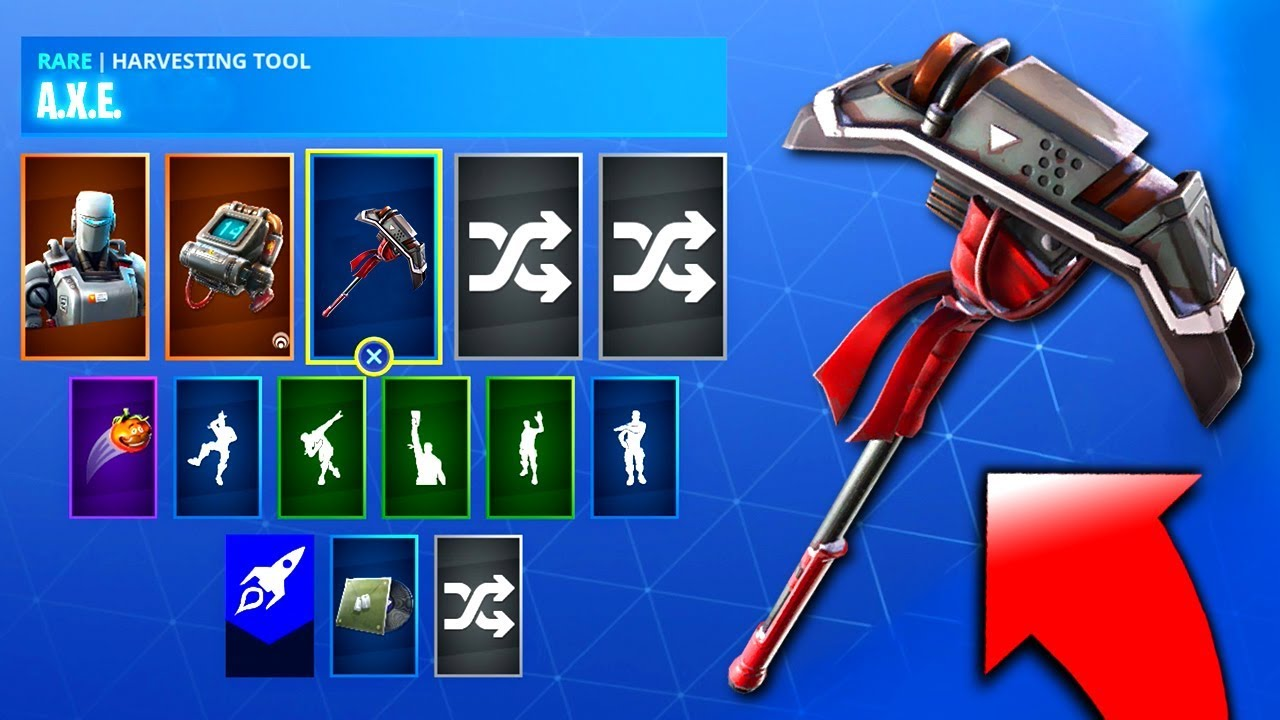 Fortnite Aim Pickaxe - How To Get The Aim Pickaxe In Fortnite! (Axe Pickaxe  Fortnite)
