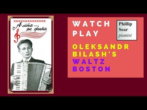 Oleksandr Bilash: Waltz-Boston