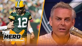 Aaron Rodgers' efficiency is the only thing preserving his legacy — Colin Cowherd | NFL | THE HERD