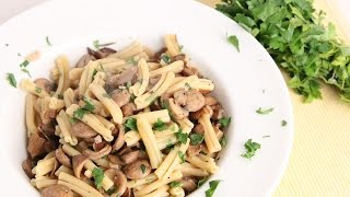 Sausage & Mushroom Pasta Recipe - Laura Vitale - Laura In The Kitchen Episode 975