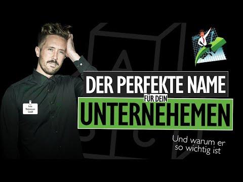 Firmennamen Finden Für Dein Startup - Darauf MUSST Du Achten! 😮 | Felixthoennessen.de