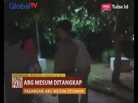 Memalukan!! Pasangan ABG Tertangkap Sedang Melakukan Tindak Asusila Di Taman - BIP 03/08
