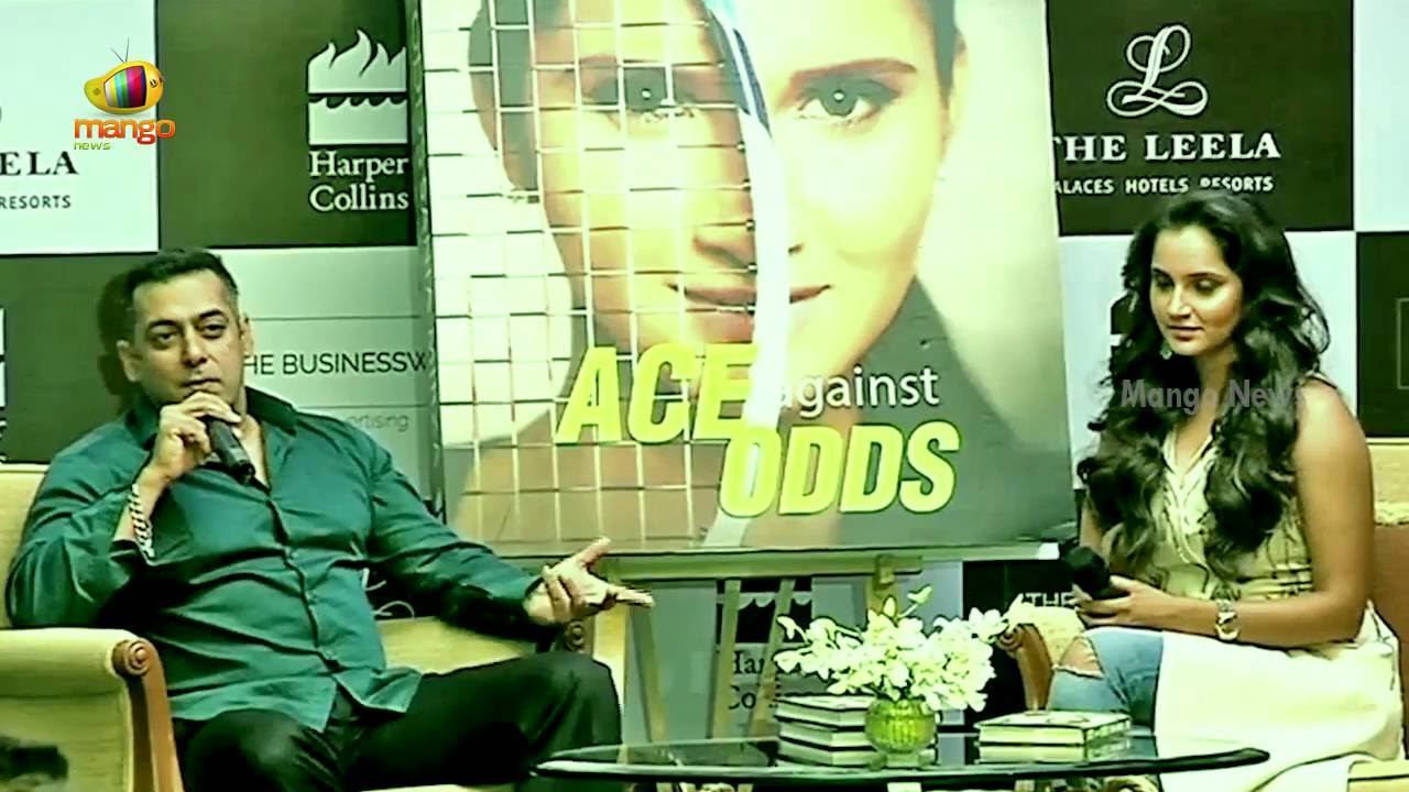 Salman Khan and Sania Mirza Full Interview | Ace Against Odds Book Launch  Event | Mango News