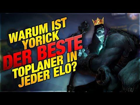 Warum ist Yorick DER BESTE Toplaner in JEDER ELO? [League of Legends] thumbnail