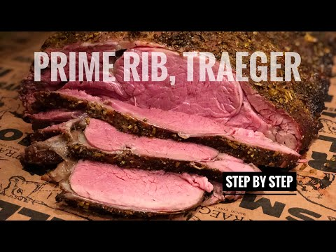 How to cook rib roast on traeger grill