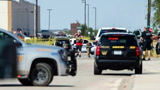 Texas gunman was shooting at random after routine traffic stop, police say