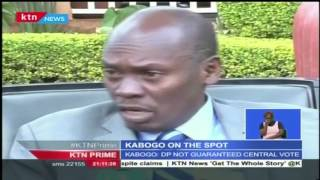 Kabogo's statement against Ruto's 2022 presidential bid lands him in problems