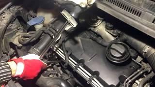 Замена свечей накала VW Golf 5 1.9TDI