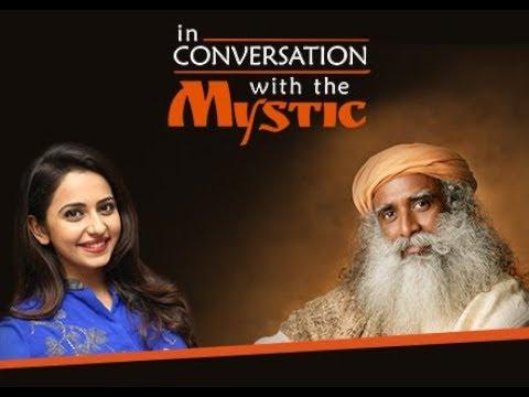 Sadhguru in Visakhapatnam   Isha foundation   In Conversation with the Mystic   Rakul Preet Singh