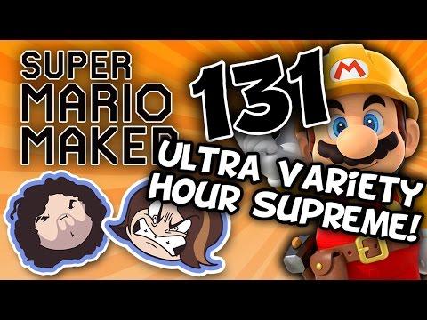 Super Mario Maker: Mecha Bowzilla - PART 131 - Game Grumps