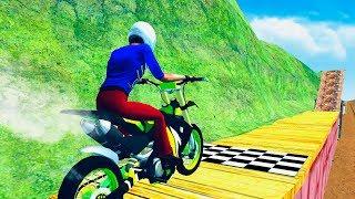 Bike stunt Mania & Moto Stunt Master - Gameplay Android game - bike stunt racing game