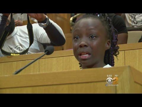 Girl Addresses Charlotte Council