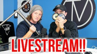 TV Titanium Bars, Vault Toy Drive And Ride Day?!... │Vault Stream Ep. 13