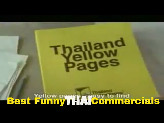 Thai Funny video commercials: From the old days of Yellow pages [part 25]